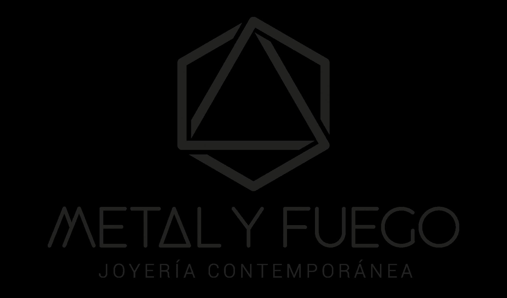 Logo Metal y Fuego png Negro